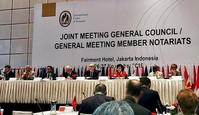 imagen de Elección de autoridades en la Asamblea de Notariados Miembros de la UINL
