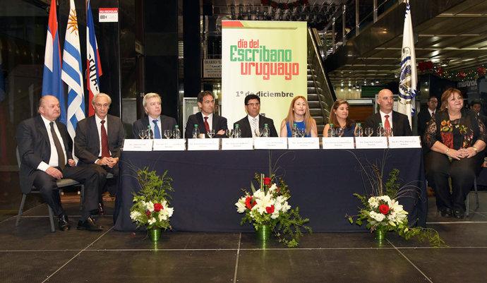 imagen de Galería: Acto Académico del Día del Escribano Uruguayo
