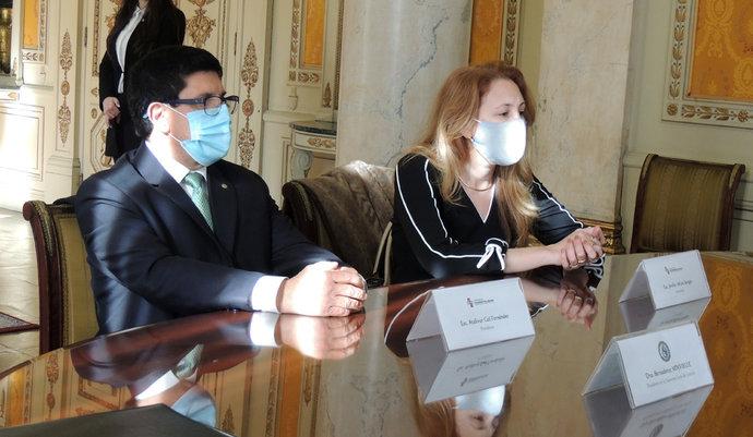 imagen de Firma de convenio de colaboración recíproca con el Poder Judicial