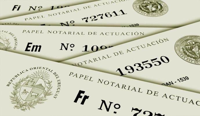 imagen de Caja Notarial: Aspectos de seguridad del Papel Notarial de Actuación