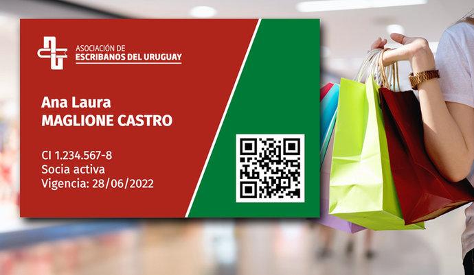 imagen de Certificado digital de socio para acceder a convenios de beneficios
